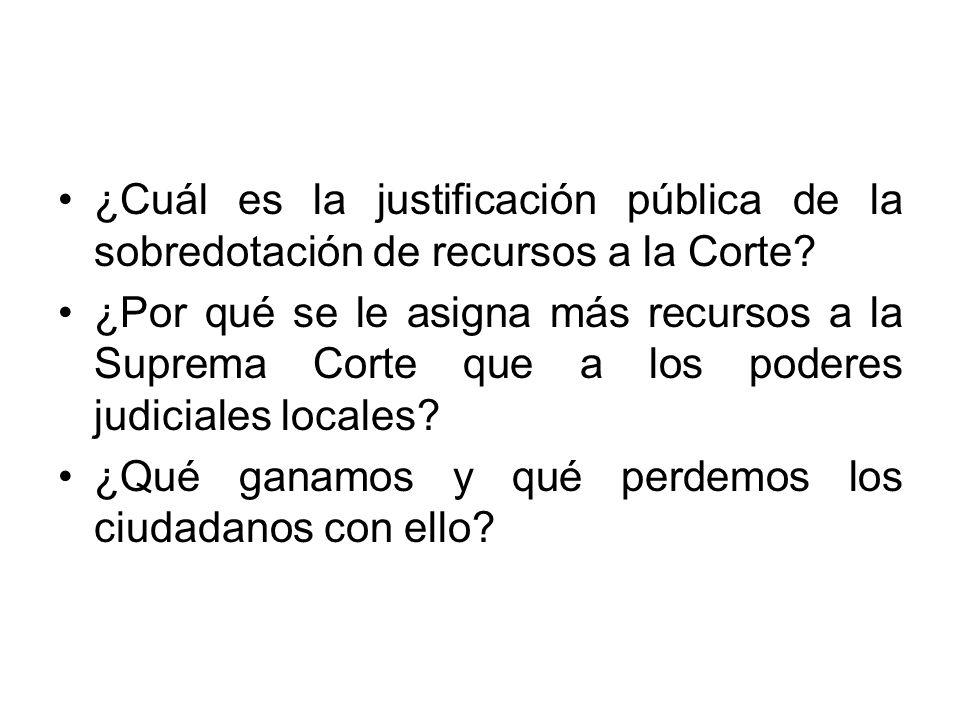 Los ministros mexicanos son los que más ganaron en comparación con los otros jueces en el mundo que llevan a cabo tareas similares.