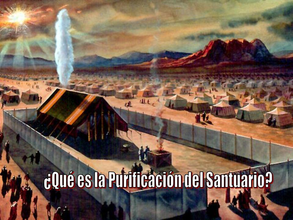 La purificación del santuario...