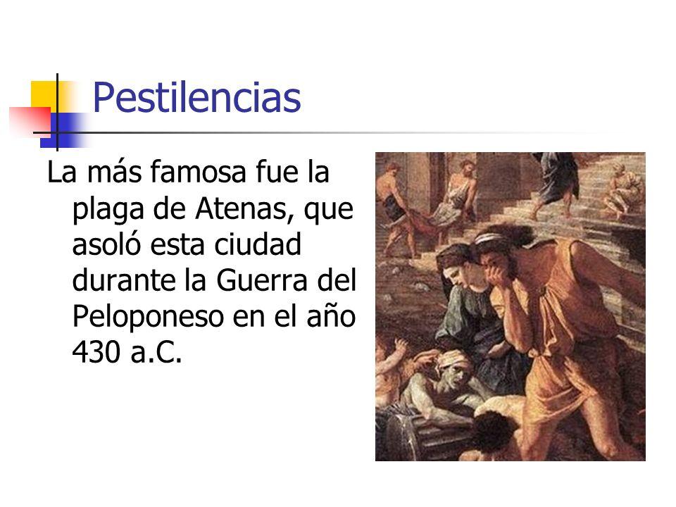 Durante el reinado del emperador Justiniano, entre los siglos V y VI d.C., la terrible plaga que azotó al mundo ya recibió el nombre griego de epidemia .