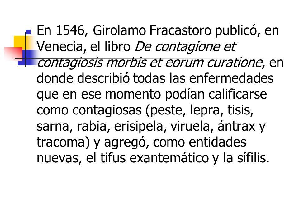 en 1580, el médico francés Guillaume de Baillou (1538-1616) publicó el libro Epidemiorum ( sobre las epidemias ) conteniendo una relación completa de las epidemias de sarampión, difteria y peste bubónica aparecidas en Europa entre 1570 y 1579