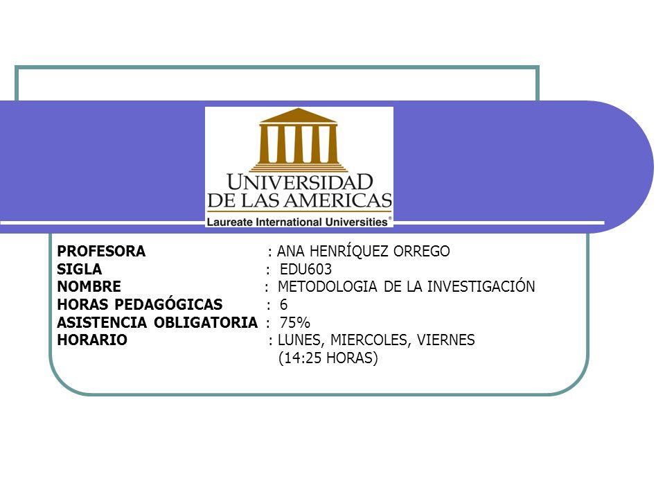 EL DISEÑO DE INVESTIGACIÓN 1.