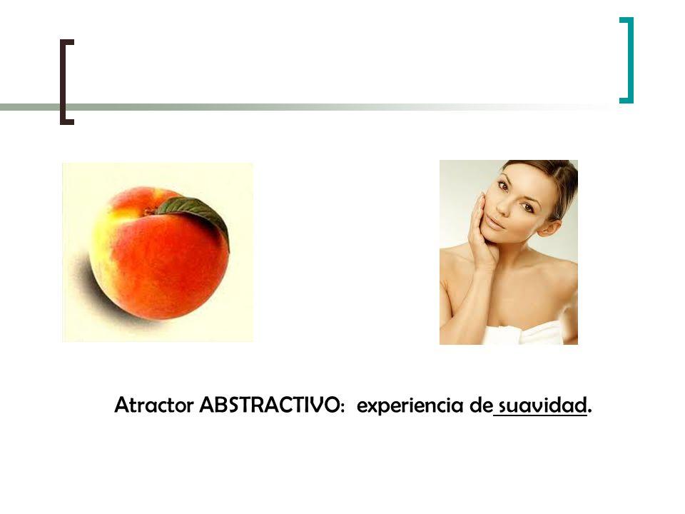 Atractor ABSTRACTIVO: experiencia de suavidad.