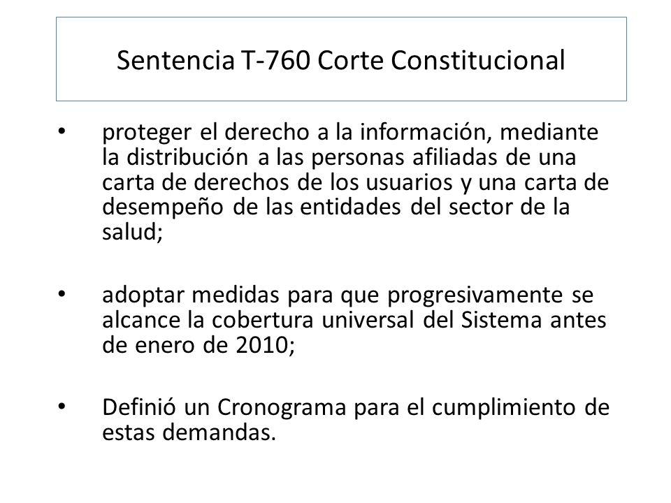 proteger el derecho a la información, mediante la distribución a las personas afiliadas de una carta de derechos de los usuarios y una carta de desemp