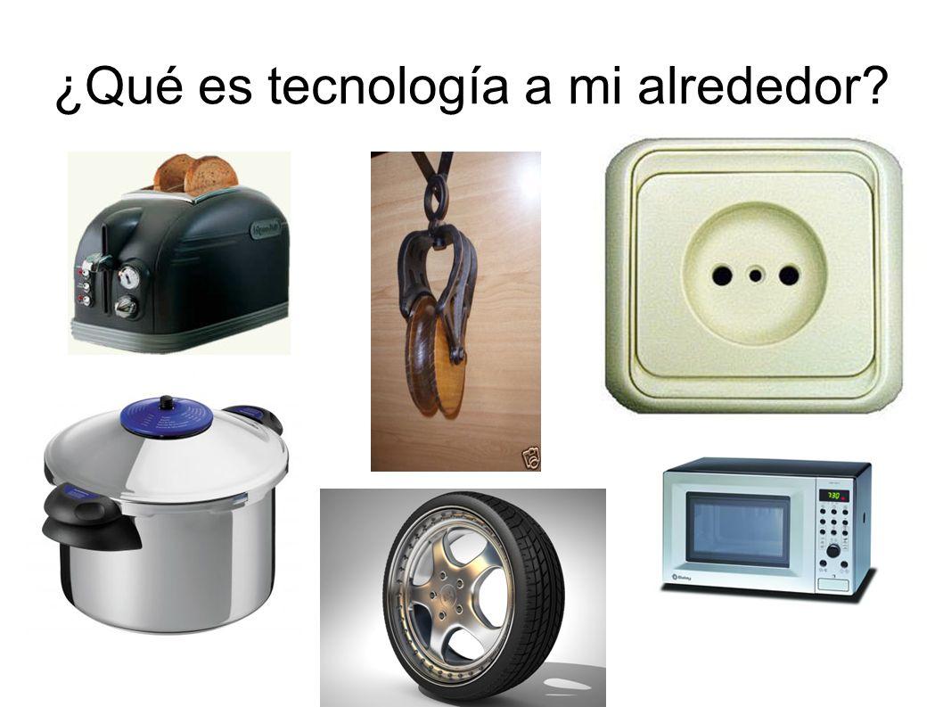 ¿Qué es tecnología a mi alrededor?