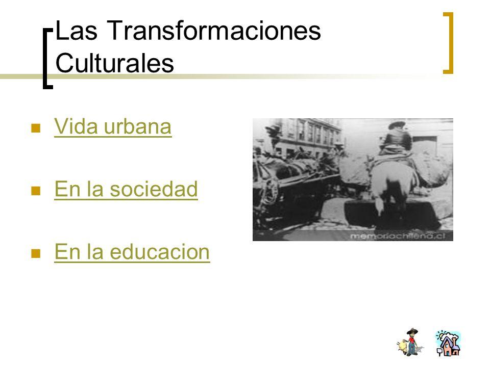 Vida urbana En la sociedad En la educacion