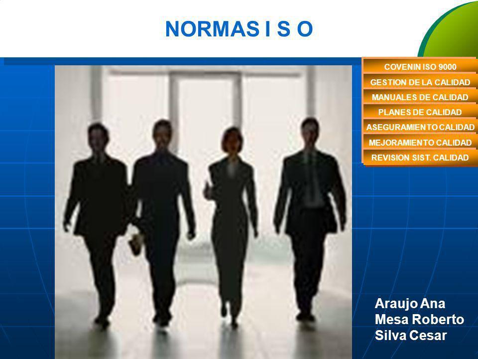 ISO 10011 – MÉTODOS DE REVISÓN DEL SC TIPOS DE AUDITORIAS -De 1° Parte - realizada por una organización sobre su propio SGC (auditoría interna) -- De 2° Parte - realizada por una organización sobre un proveedor (auditoría externa) -- De 3° Parte - realizada por una organización independiente (auditoría externa; por ejemplo de certificación)