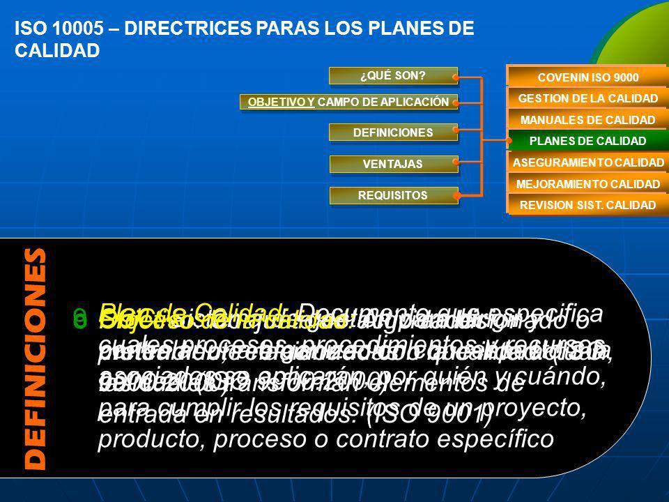 ISO 10011 – MÉTODOS DE REVISÓN DEL SC EL PROCESO DE AUDITORIA