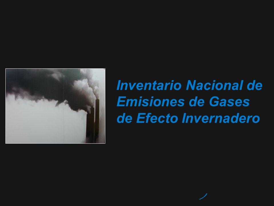 Inventario Nacional de Emisiones de Gases de Efecto Invernadero
