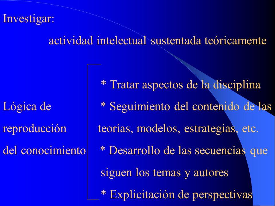 APRENDIZAJE DE PROCEDIMIENTOS 1- Realización de acciones A investigar se aprende investigando 2- Ejercitación Repetición de experiencias 3- Reflexión