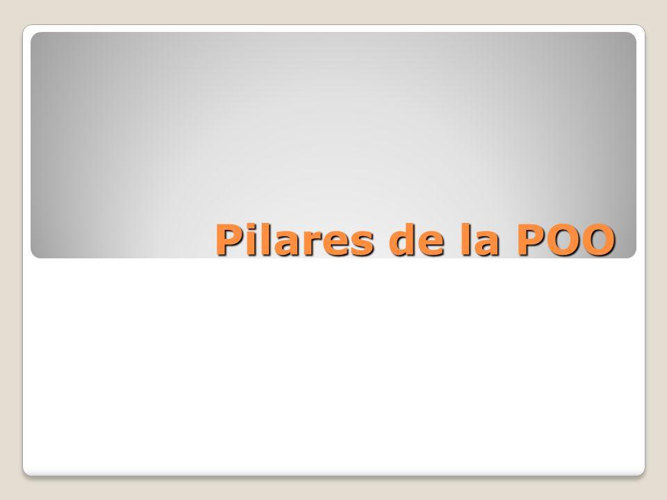 Pilares de la P.O.O.