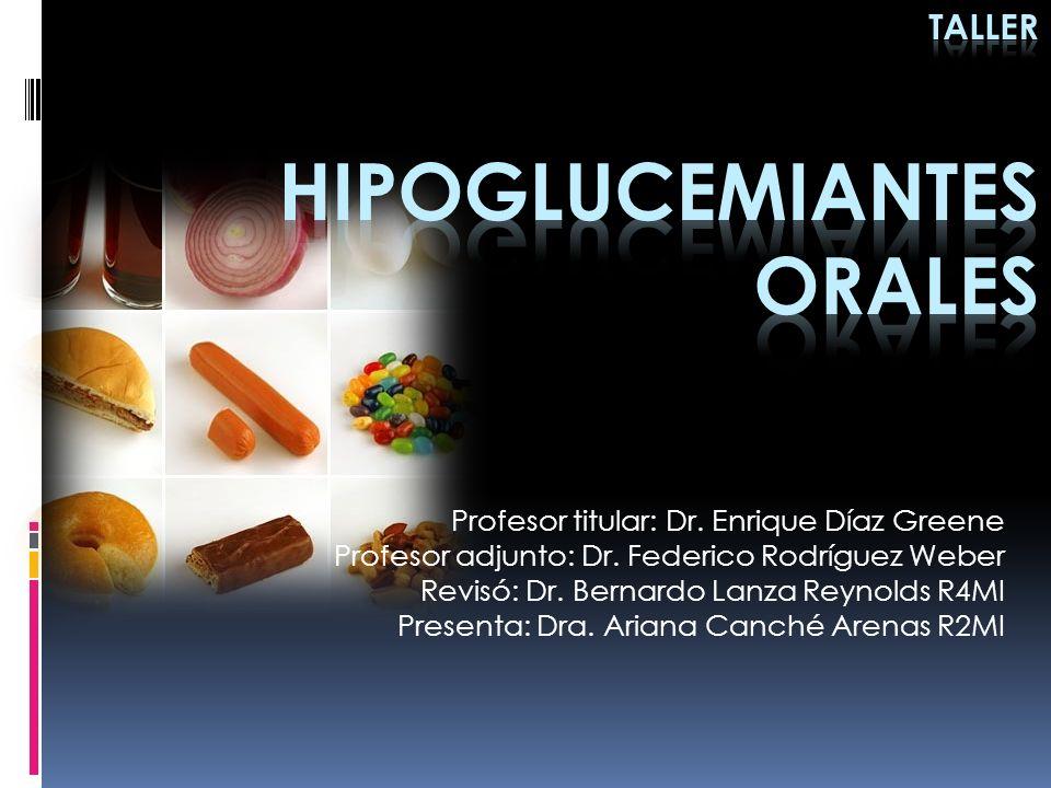 EJERCICIO TALLER 3 DM2 mas IMC 25 y con glicemia en Ayuno de 250 mg/dl en tratamiento con Metformina 850 mg 3 veces al día y glibenclamida 5 mg cada 8 hrs.