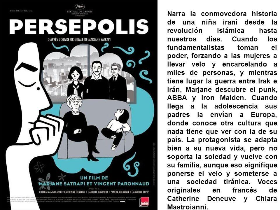 TÍTULO ORIGINAL Persepolis AÑO 2007 DURACIÓN Trailers/VídeosTrailers/Vídeos 95 min.