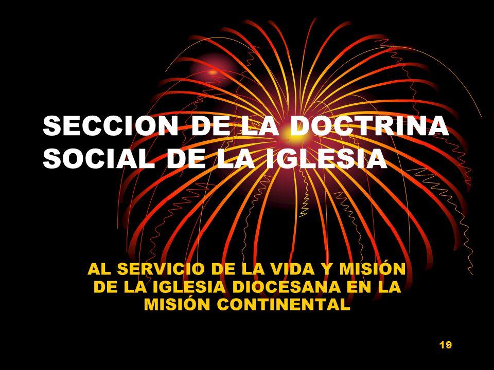 18 EQUIPO DOCTRINA SOCIAL DE LA IGLESIA Dr. J. JESUS BERNAL NAVARRO. (Coordinador Ejecutivo)Dr. J. JESUS BERNAL NAVARRO. (Coordinador Ejecutivo) Ma. C
