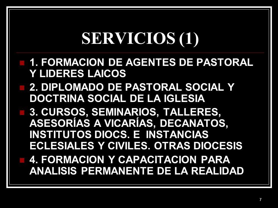 6 RECURSOS HUMANOS: 12 laicos (voluntariado), 1 Presbítero HUMANOS: 12 laicos (voluntariado), 1 Presbítero ECONOMICOS: Subsidio diocesano y venta de l
