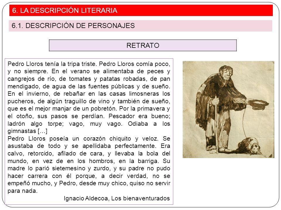 RETRATO Pedro Lloros tenía la tripa triste. Pedro Lloros comía poco, y no siempre. En el verano se alimentaba de peces y cangrejos de río, de tomates