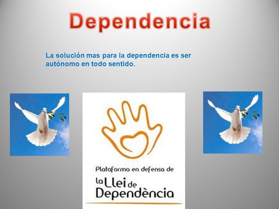 La dependencia es el resultado de ser el extremo receptor de la caridad. A corto plazo, como tras un desastre, la caridad puede ser esencial para la s