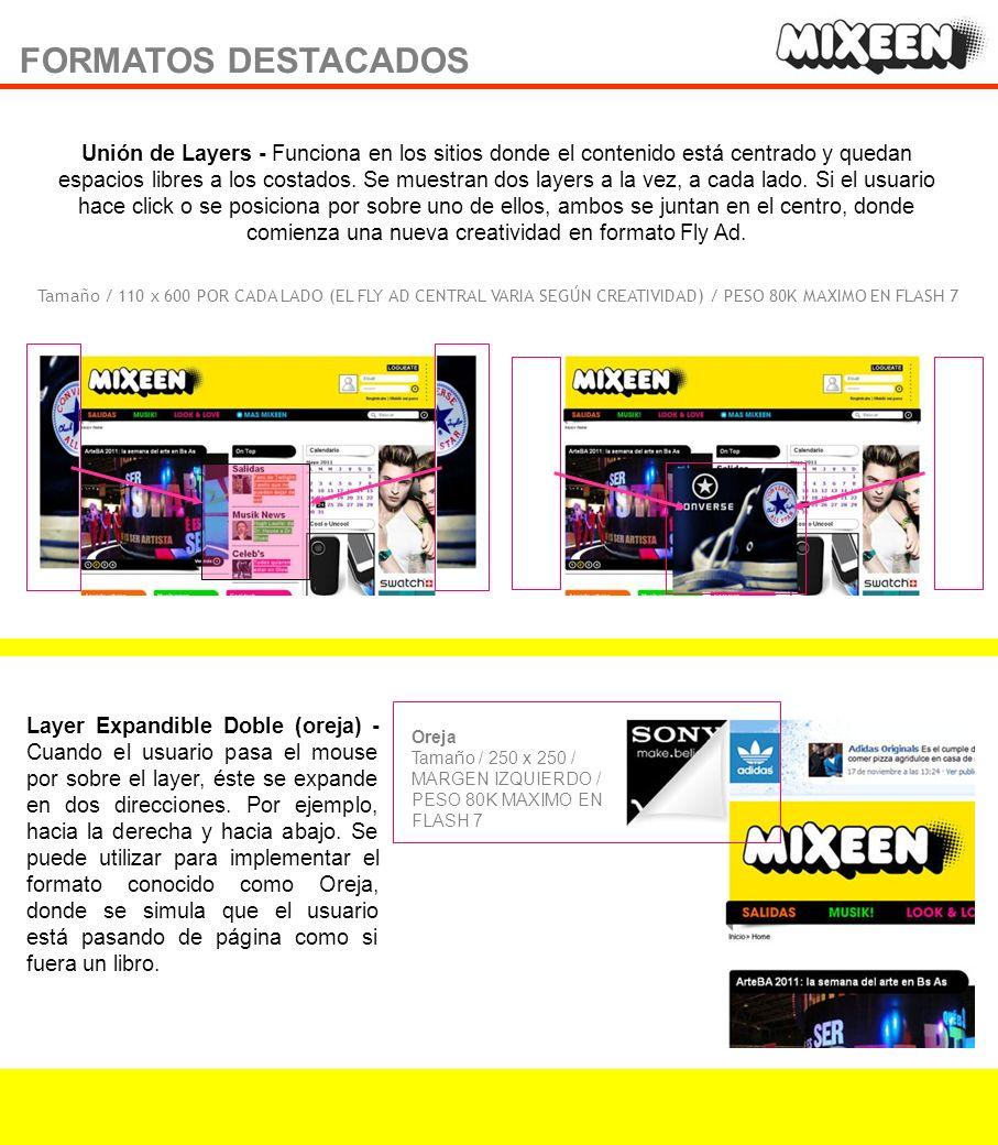 BANNER SKIN 11 Banner con skin - Este formato presenta la personalización del fondo del site (laterales que bordean la página).