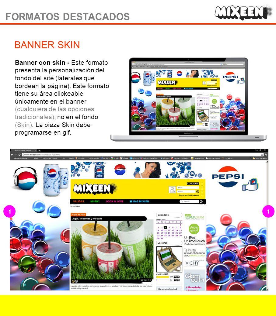 Newsletter semanal / Contenidos generales Los contenidos generales más destacados de Mixeen y cada una de sus secciones.
