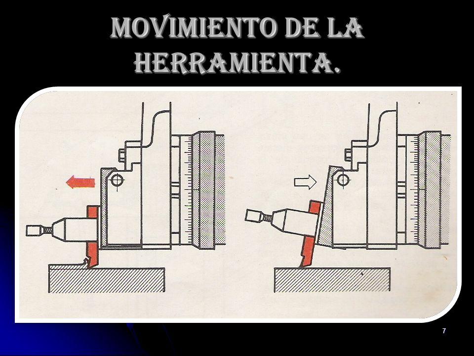 7 Movimiento de la Herramienta.
