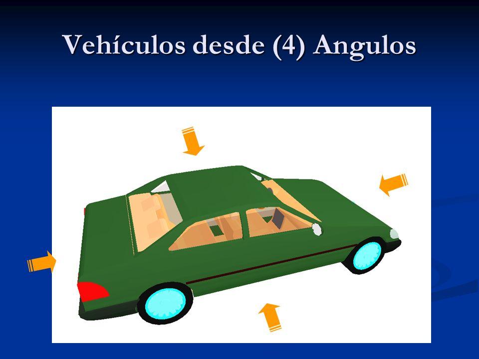 Vehículos desde (4) Angulos