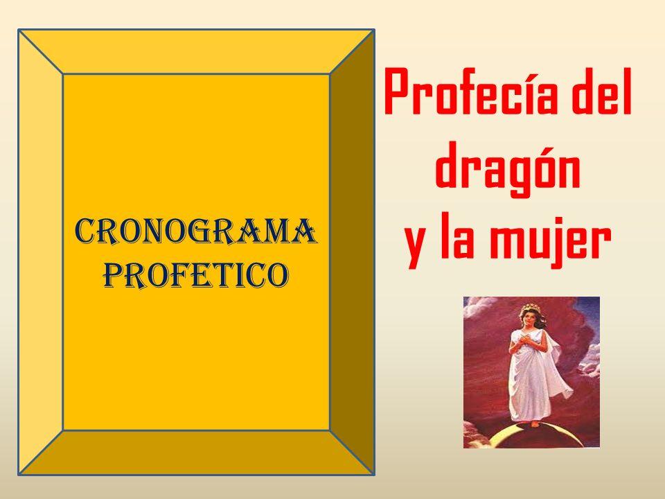 CRONOGRAMA PROFETICO Profecía del dragón y la mujer