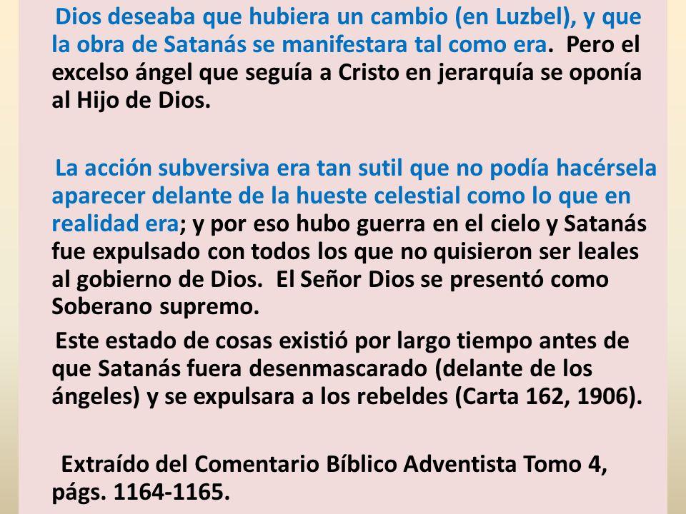 Apoc.12:13-16; Habla del desarrollo de ese conflicto en la tierra hasta el tiempo del fin.