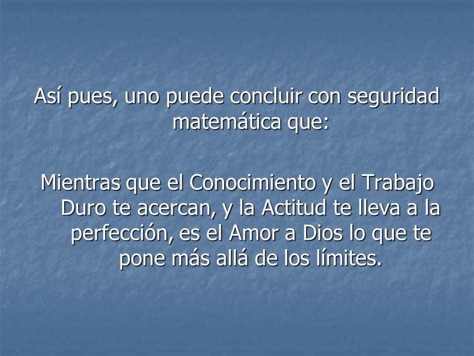 L-O-V-E-O-F-G-O-D (Amor de Dios) 12+15+22+5+15+6+7+15+4 = 101%