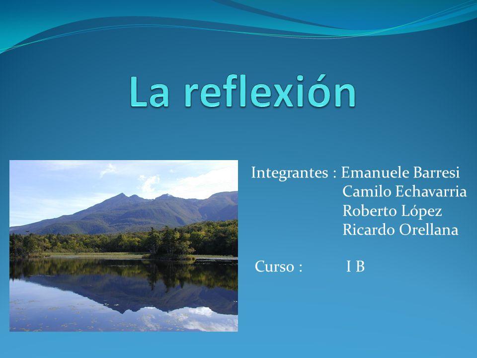 Integrantes : Emanuele Barresi Camilo Echavarria Roberto López Ricardo Orellana Curso : I B