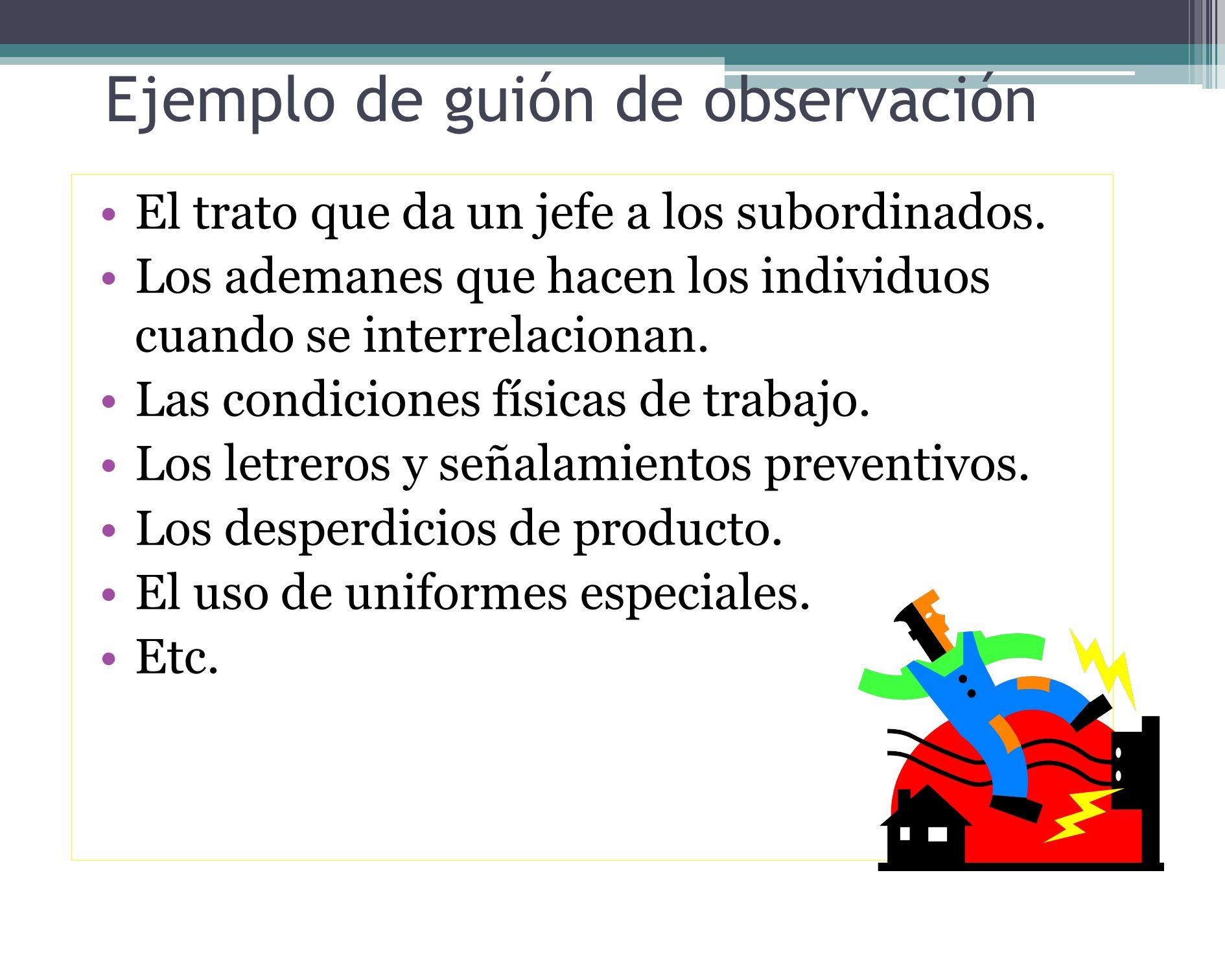 Observación indirecta Se le denomina indirecta a la observación en que se emplean elementos que registran aspectos visuales y auditivos del problema d