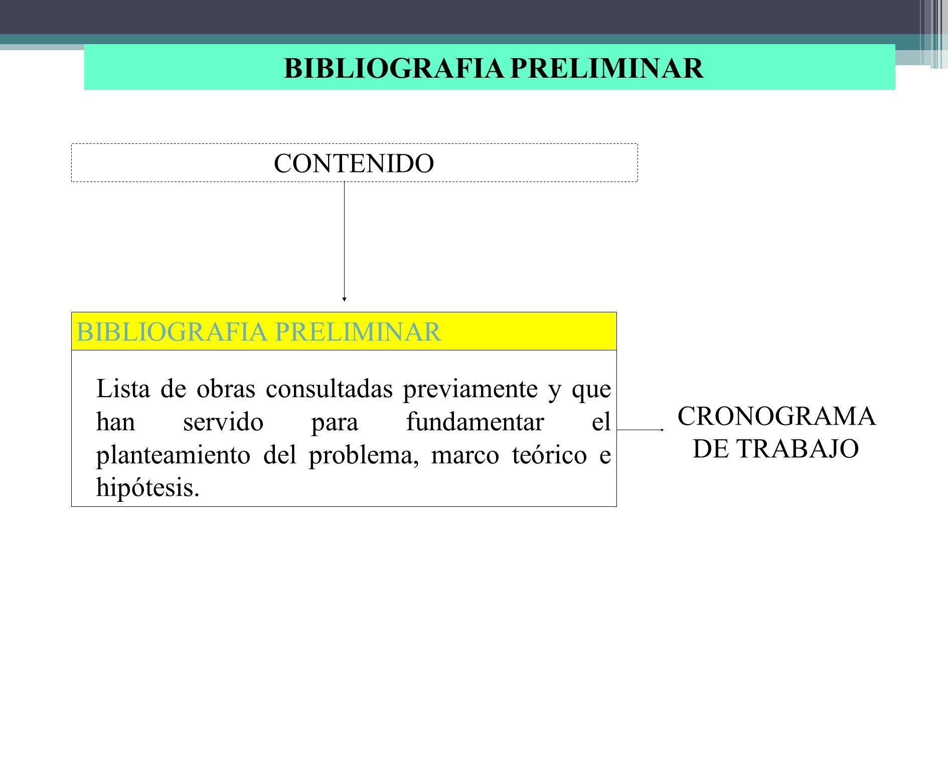 TABLA DE CONTENIDO El investigador debe definir los capítulos de trabajo, identificar los objetivos para cada capítulo y los subtemas que incluye cada