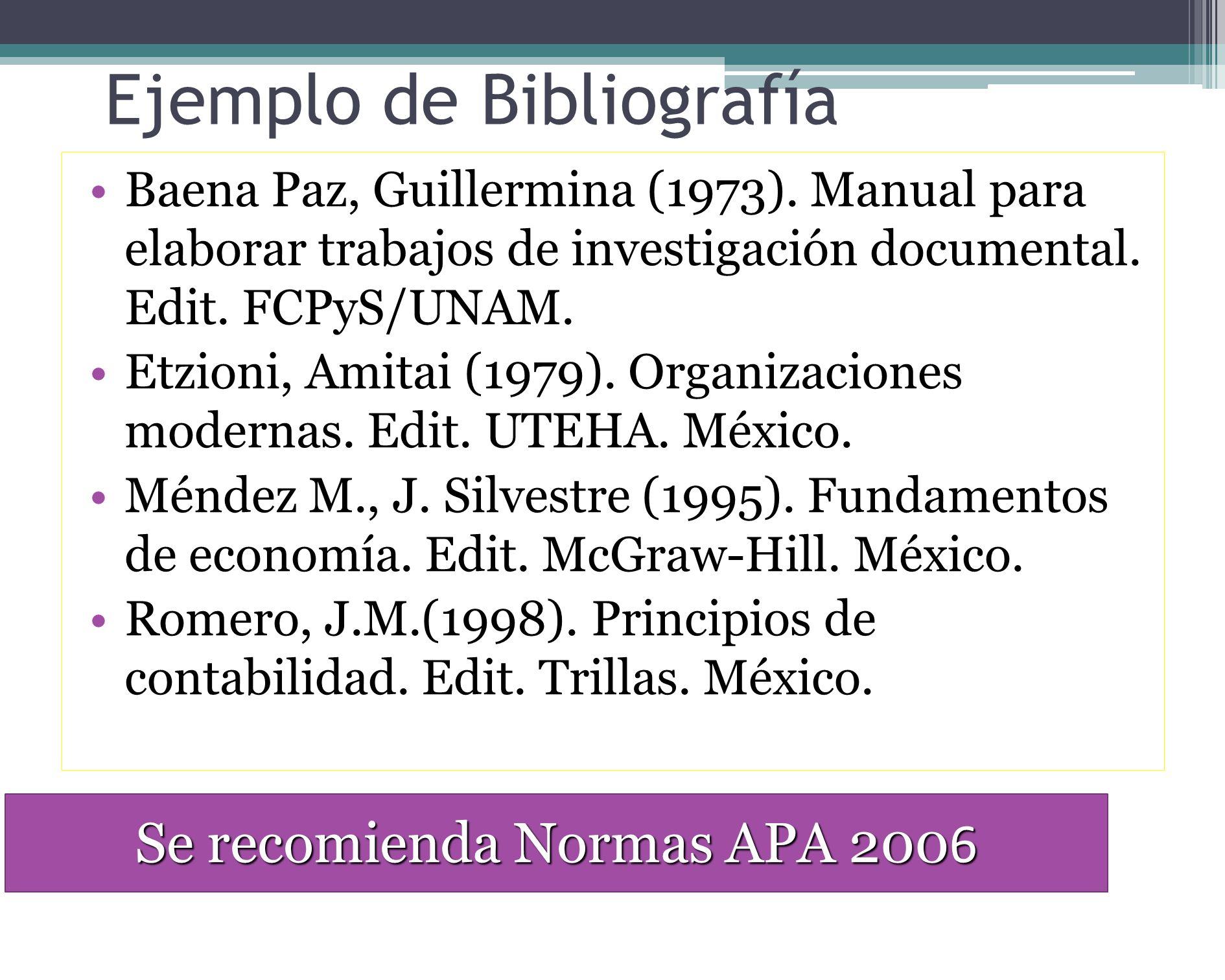 BIBLIOGRAFIA PRELIMINAR Lista de obras consultadas previamente y que han servido para fundamentar el planteamiento del problema, marco teórico e hipót