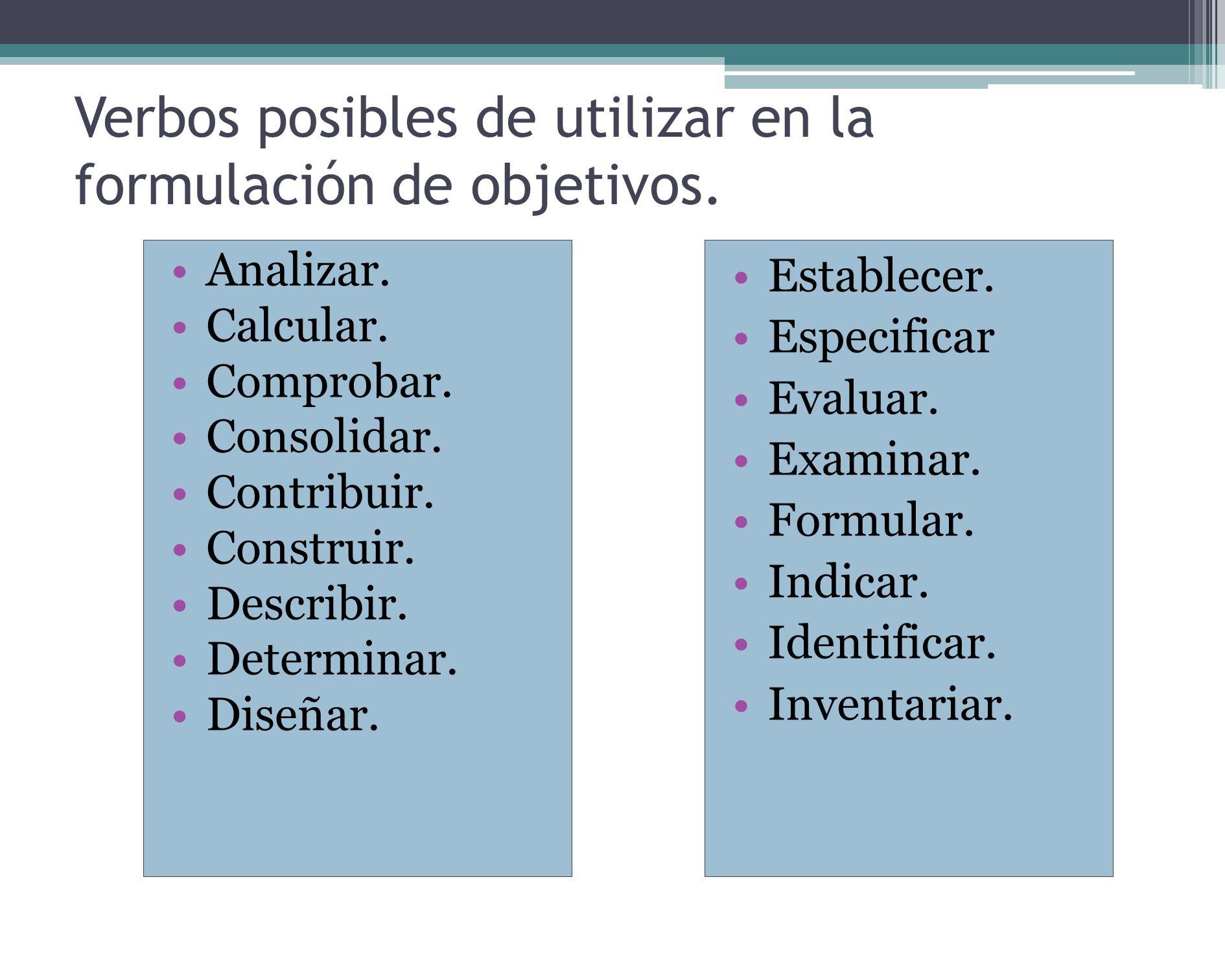 10) PRONOSTICAR Predecir, proyectar. Ya son conocidas y medidas las conexiones causales entre las variables.
