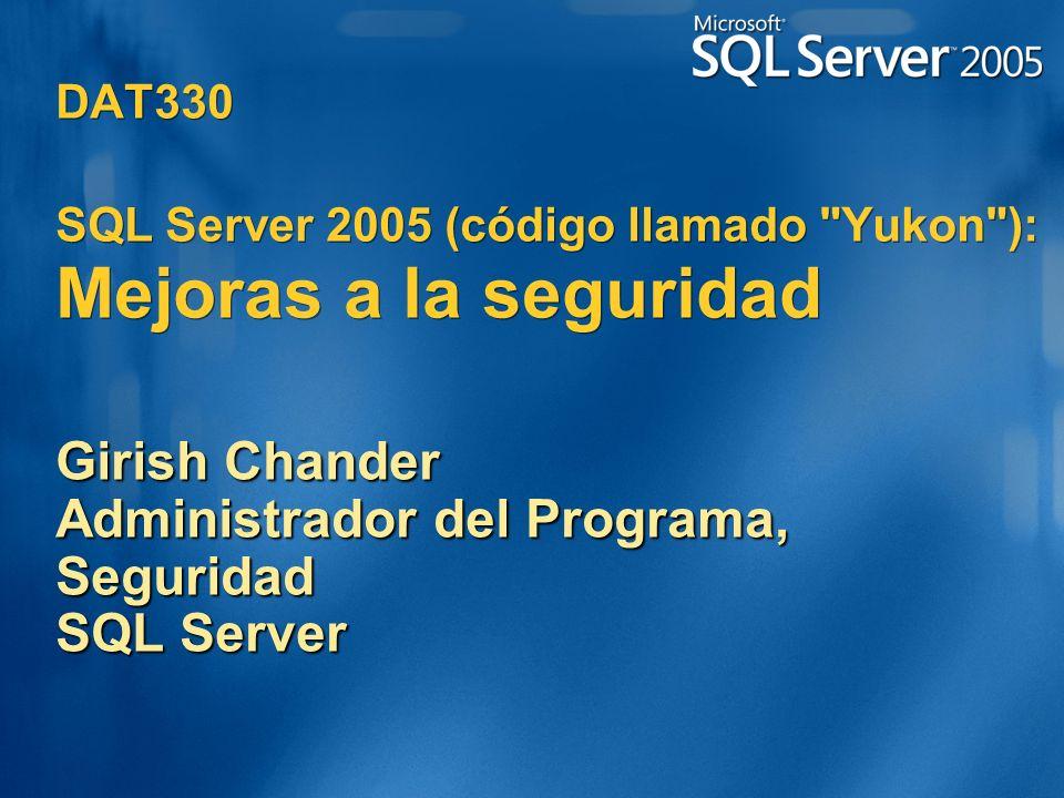 DAT330 SQL Server 2005 (código llamado
