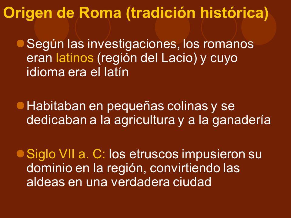 Las conquistas dieron a Roma poder, prestigio y grandes riquezas Consecuencias sociales: I.La clase alta, aumentó sus riquezas, formando la clase llamada orden senatorial.