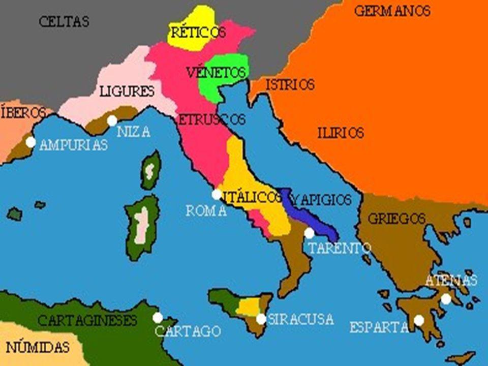 A mediados del siglo II a.C., Roma experimentó una crisis que se manifestó en: 1.Se agudizaron los enfrentamientos entre los miembros del Partido Senatorial y los miembros del Partido Popular (Tiberio Graco, líder del Partido Popular, quien fue asesinado por proponer leyes que perjudicaban a sus oponentes) 2.Dificultad para mantener las posiciones romanas.