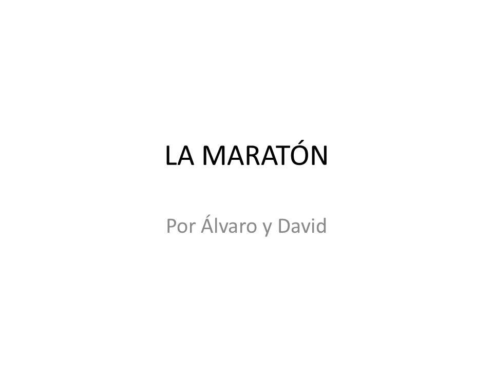 Un maratón o una maratón1 es una prueba atlética de resistencia con categoría olímpica que consiste en correr una distancia de 42.195 metros.1 atléticaolímpica metros