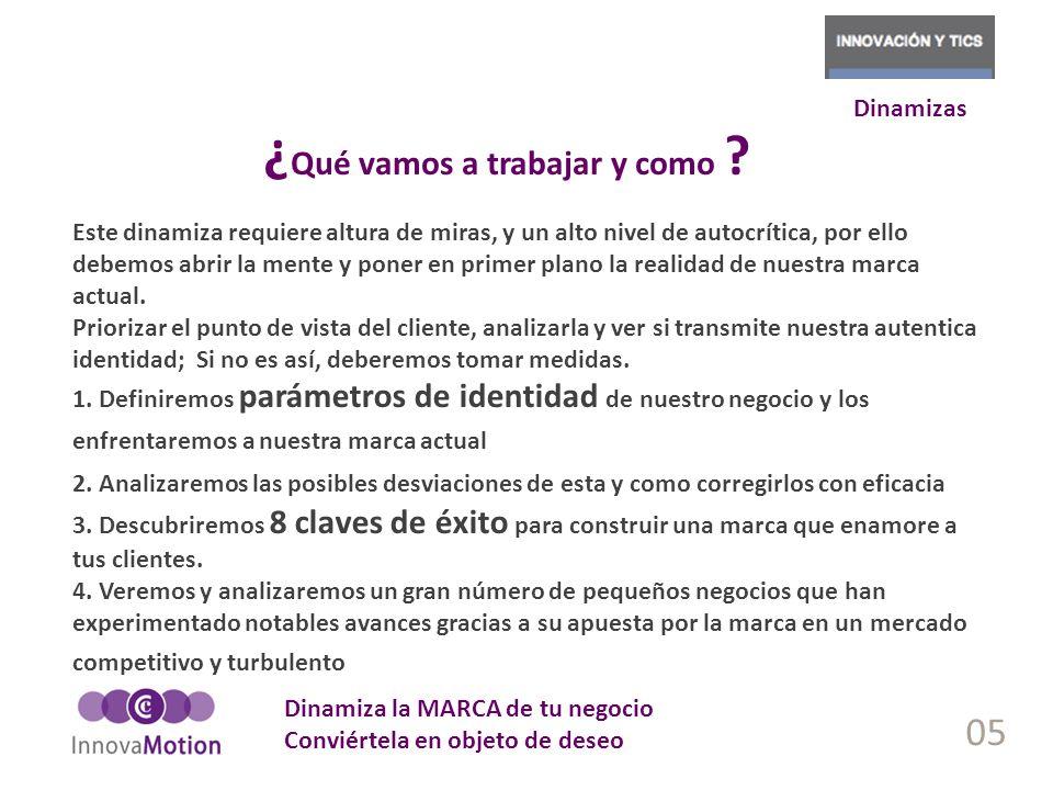 06 Marca como algo percibido Marca como algo emocional Marca como sello de identidad No soy un producto.