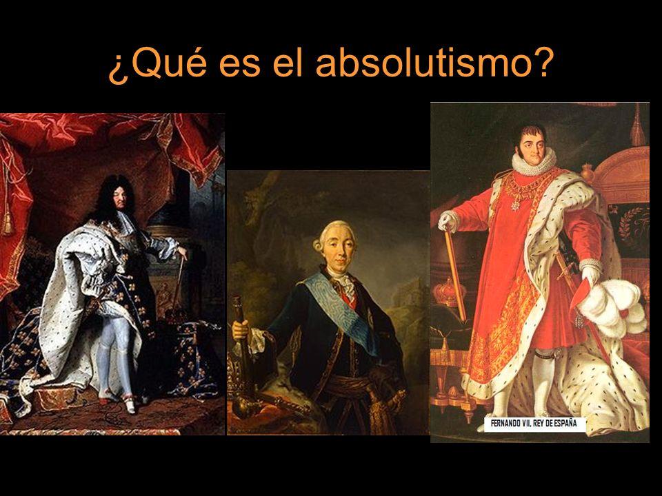 ¿Qué es el absolutismo?