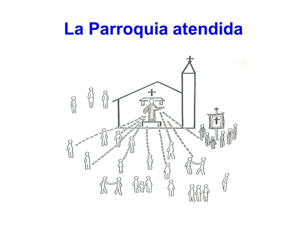 Parroquia atendida con cierta participación