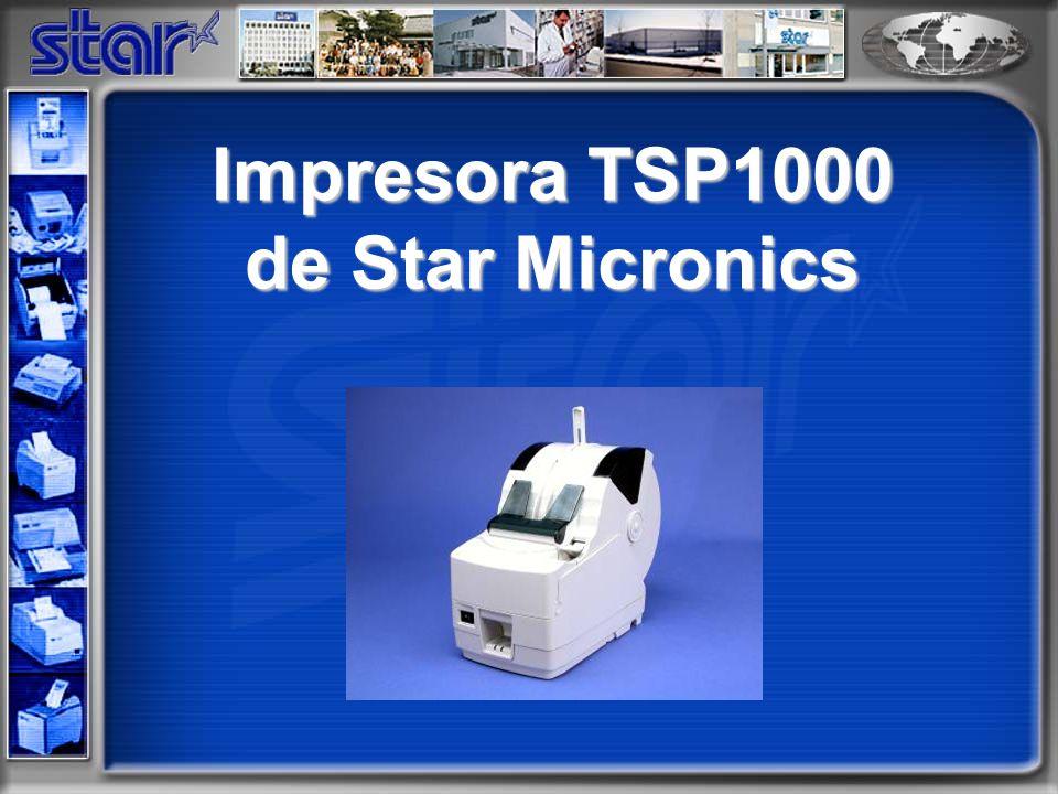 Impresora TSP1000 de Star Micronics