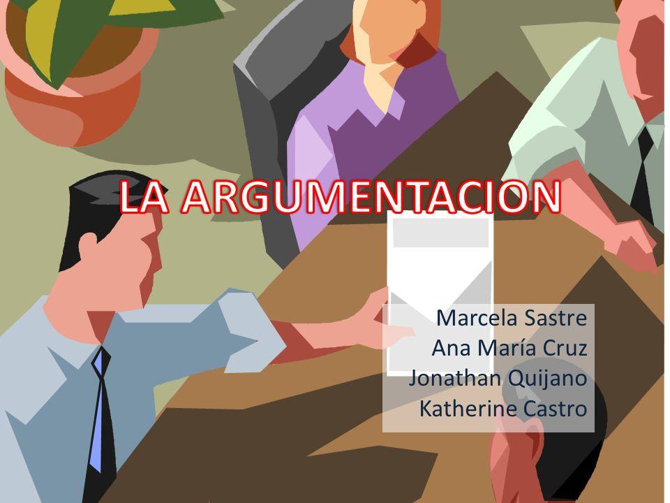Marcela Sastre Ana María Cruz Jonathan Quijano Katherine Castro