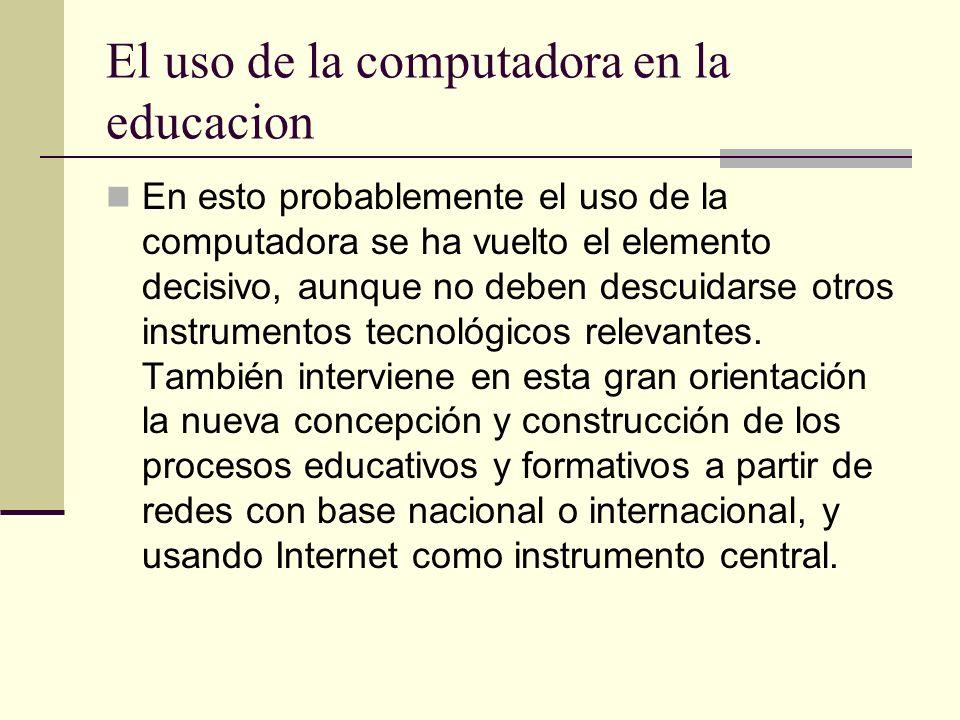 Debido a la tecnología, muchos tópicos en matemáticas discretas asumen una nueva importancia en el aula de matemáticas contemporánea; las fronteras de
