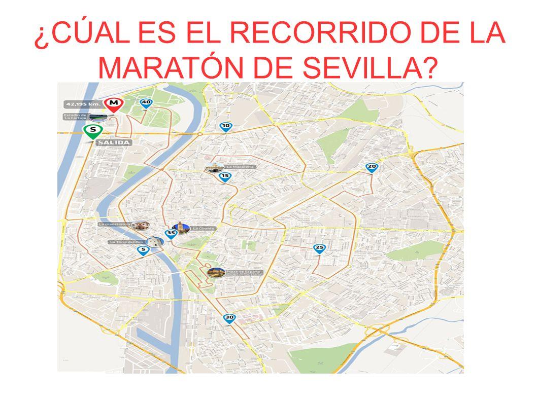 ¿CÚAL ES EL RECORRIDO DE LA MARATÓN DE SEVILLA?