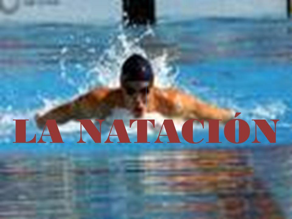 CRAWL (CROL) Estilo más rápido Características: Piernas; movimiento alternativo arriba-abajo Brazos; en la fase acuática 3 partes: entrada, agarre, tracción y empuje Respiración; lateral