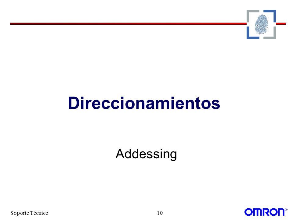 Soporte Técnico10 Direccionamientos Addessing