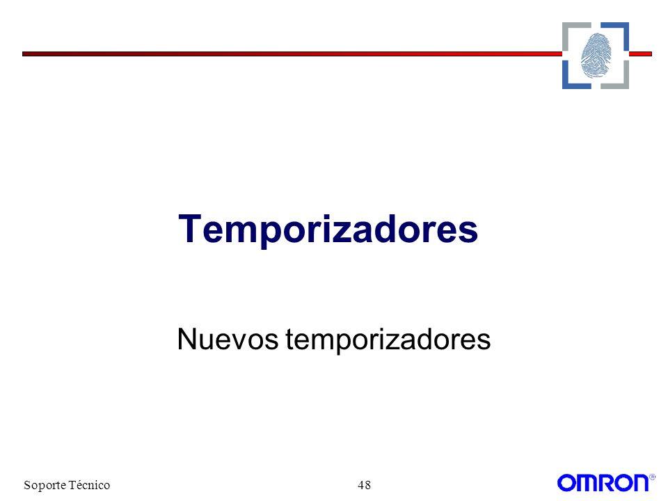 Soporte Técnico48 Temporizadores Nuevos temporizadores