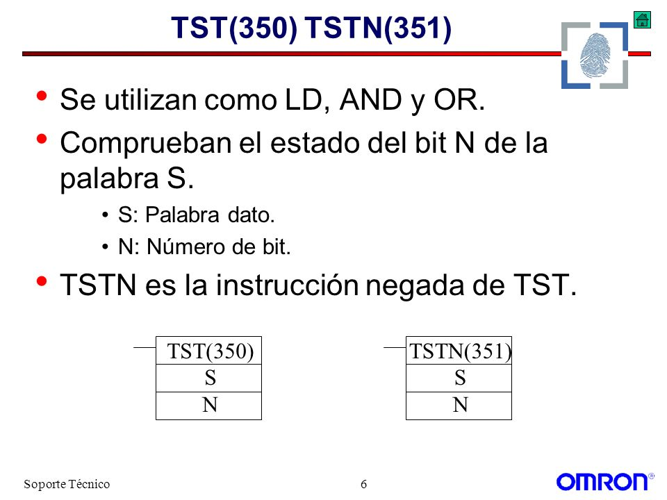 Soporte Técnico127 Comparación Ejemplo >$(674) D00000 W000 0001.02 =$(670) D00000 W000 0000.00 0000.02 <$(672) D00000 W000 0001.01 0000.01 AND OR LD