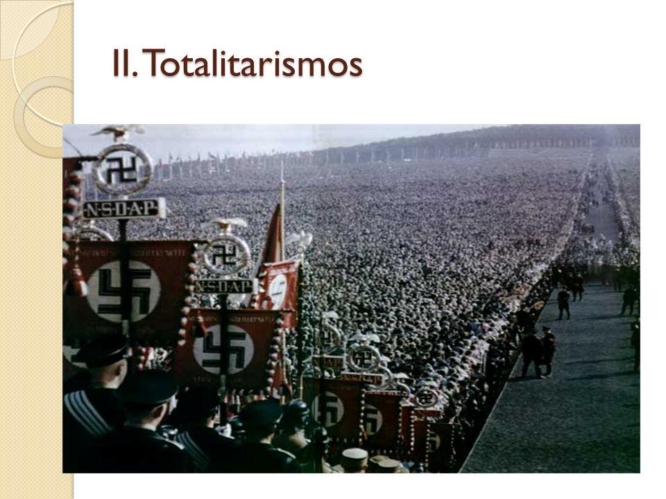 II. Totalitarismos