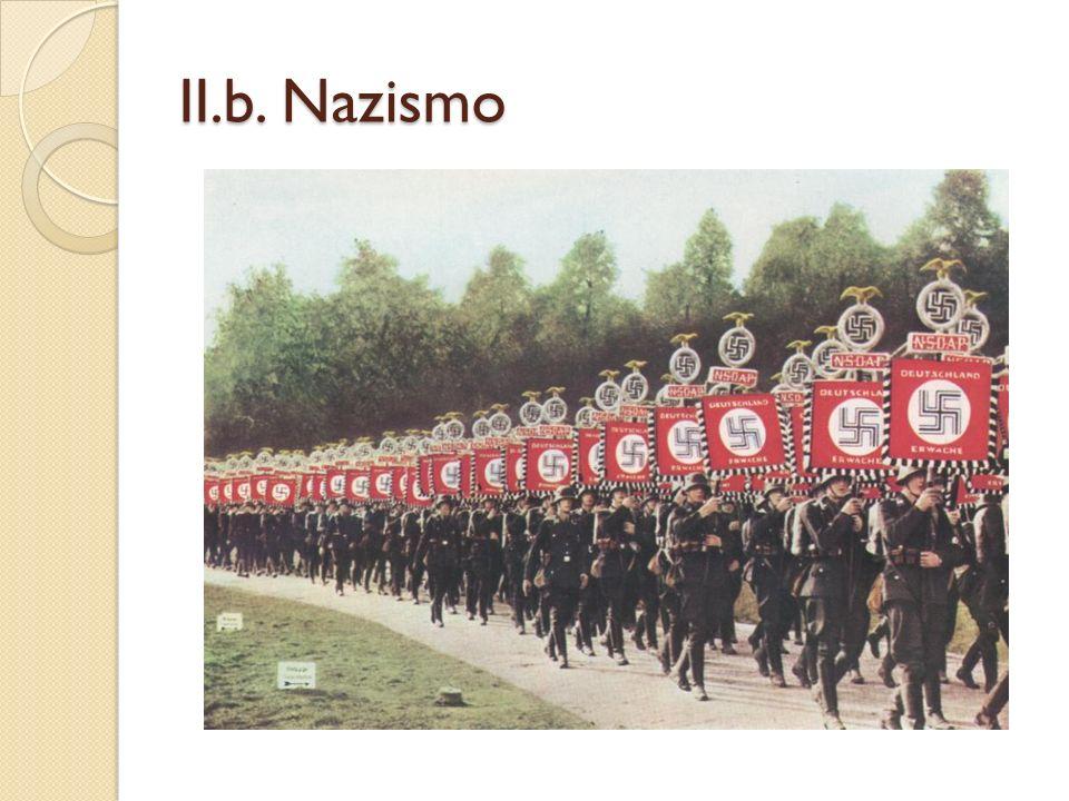 II.b. Nazismo