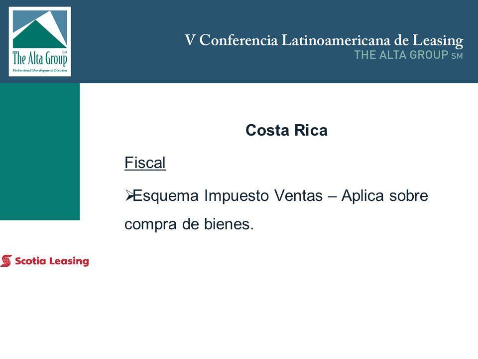 Insertar logo Costa Rica Fiscal Esquema Impuesto Ventas – Aplica sobre compra de bienes.
